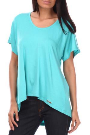 Блузка Sassofono. Цвет: зеленый