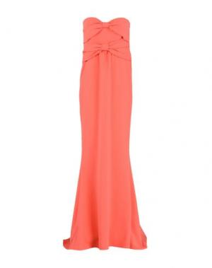 Длинное платье BOUTIQUE MOSCHINO. Цвет: коралловый