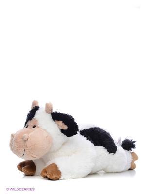 Игрушка мягкая Moo Gund. Цвет: черный, коричневый, белый