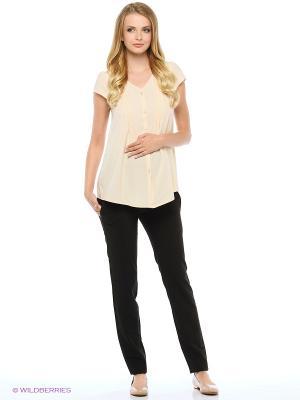 Блузка для беременных FEST. Цвет: кремовый