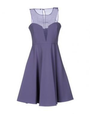 Короткое платье ANNARITA N.. Цвет: светло-фиолетовый