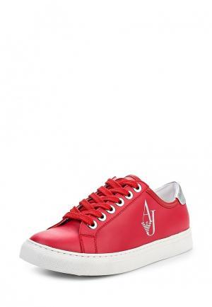 Кеды Armani Jeans. Цвет: красный
