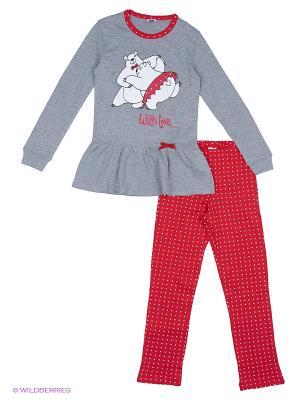 Пижама MANAI. Цвет: серый