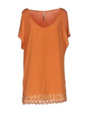 Блузка EMMA&GAIA. Цвет: оранжевый