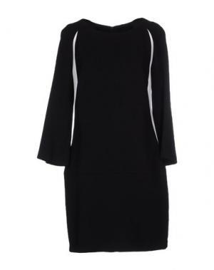 Короткое платье ACCESS. Цвет: черный