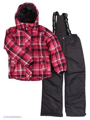 Комплект одежды Gusti. Цвет: черный, красный