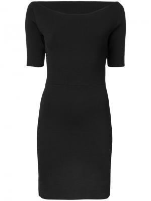 Приталенное платье Dion Lee. Цвет: чёрный