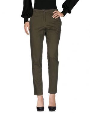 Повседневные брюки KARTIKA. Цвет: зеленый-милитари