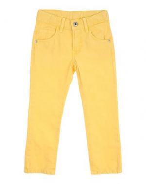 Повседневные брюки EDDIE PEN. Цвет: желтый