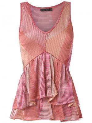 Knitted blouse Cecilia Prado. Цвет: розовый и фиолетовый