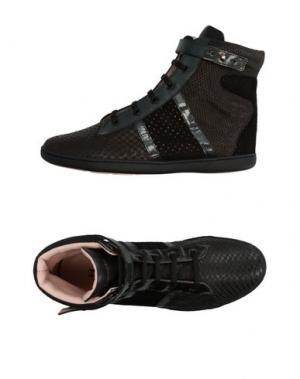Высокие кеды и кроссовки REPETTO. Цвет: черный