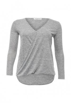 Пуловер Amplebox Size Plus. Цвет: серый