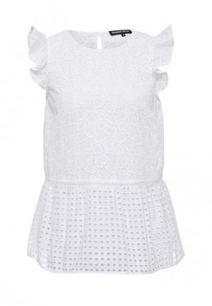 Блуза Markus Lupfer. Цвет: белый