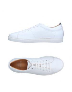 Низкие кеды и кроссовки FABIANO RICCI. Цвет: белый