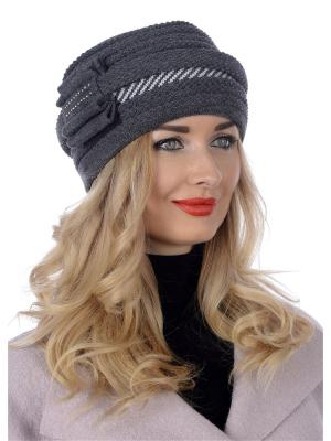 Шляпа Сиринга. Цвет: темно-серый