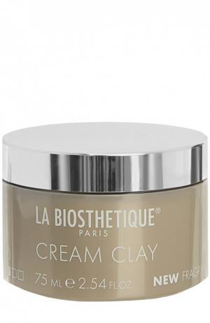 Стайлинг-крем для тонких волос Cream Clay La Biosthetique. Цвет: бесцветный