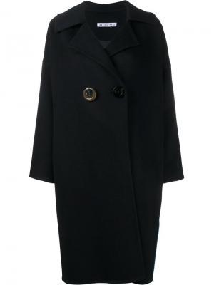 Пальто свободного кроя Kate Rejina Pyo. Цвет: синий