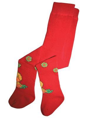 Колготки 1 пара Master Socks. Цвет: красный