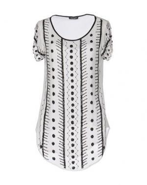 Блузка CRISTINAEFFE. Цвет: белый