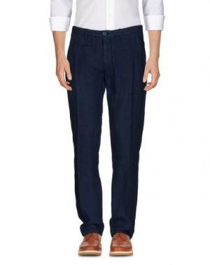 Повседневные брюки UNIFORM. Цвет: темно-синий