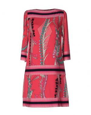 Короткое платье ALI RO. Цвет: розовый