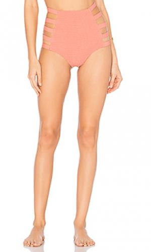 Низ бикини vera Tori Praver Swimwear. Цвет: коралл
