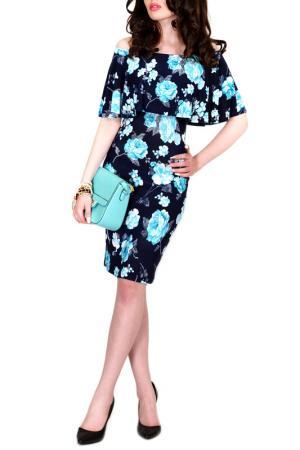 Платье FRANCESCA LUCINI. Цвет: мятная орхидея