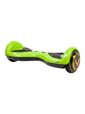 Детский гироскутер CarWalk Wings. Размер колеса 4,5 дюймов.. Цвет: зеленый