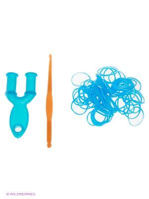 Резинки для плетения Loom Bands. Цвет: голубой
