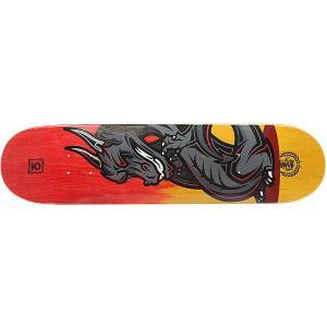 Дека для скейтборда  Dragon Red/Orange 31.5 x 7.75 (19.7 см) Юнион. Цвет: оранжевый,желтый,мультиколор