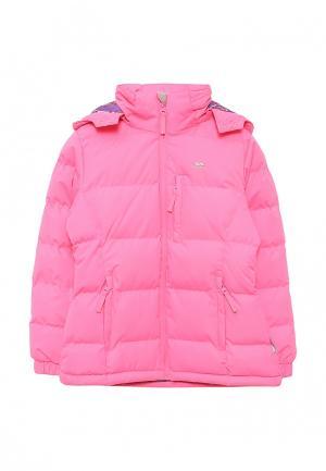 Куртка утепленная Trespass. Цвет: розовый