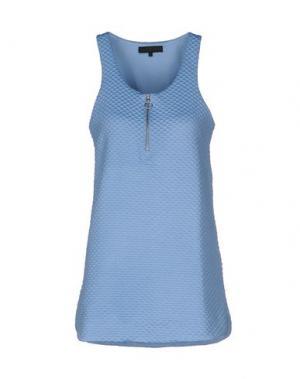 Короткое платье AMERICAN RETRO. Цвет: небесно-голубой
