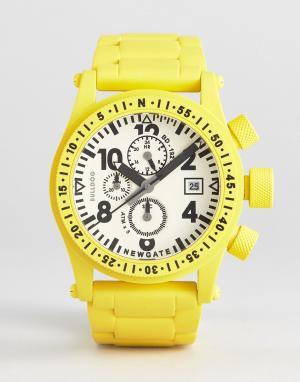 Newgate Часы Bulldog. Цвет: желтый