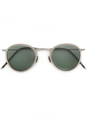 Round frame sunglasses Eyevan7285. Цвет: металлический