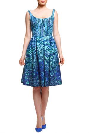 Платье SWEETME TM. Цвет: мультицвет