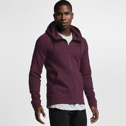 Мужская худи с полноразмерной молнией Jordan Sportswear Wings Fleece Nike. Цвет: пурпурный