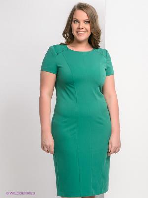 Платье Marlen. Цвет: зеленый