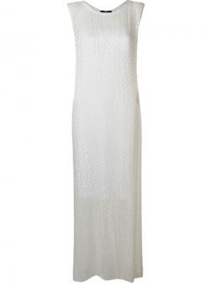 Платье Volupia Uma | Raquel Davidowicz. Цвет: белый