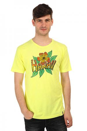 Футболка  Vintage Hawaii Yellow Lost. Цвет: желтый