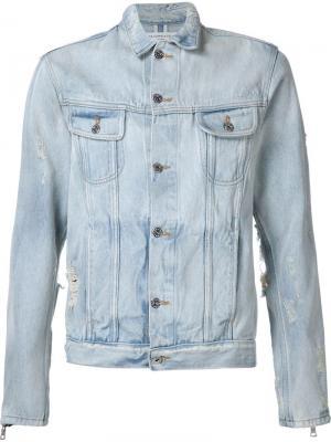 Джинсовая куртка Mr. Completely. Цвет: синий