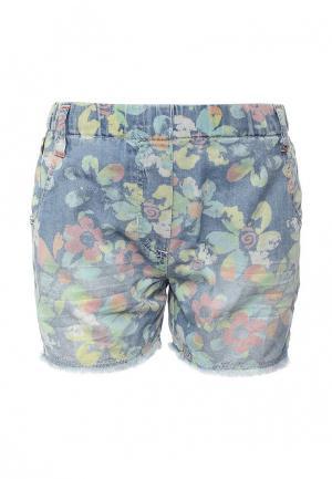Шорты джинсовые Boboli. Цвет: разноцветный