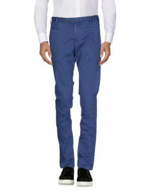 Повседневные брюки COCHRANE. Цвет: пастельно-синий