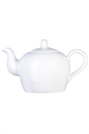 Чайник заварочный, 600мл KAHLA. Цвет: белый