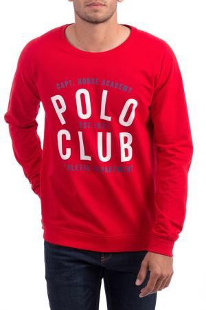 Толстовка POLO CLUB С.H.A.. Цвет: красный