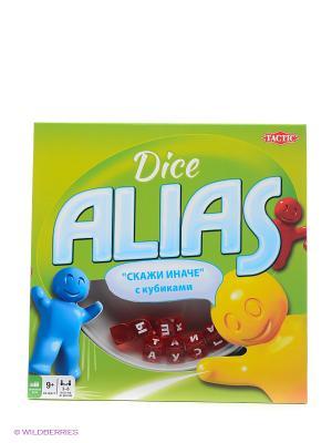 Alias с кубиками Tactic Games. Цвет: салатовый