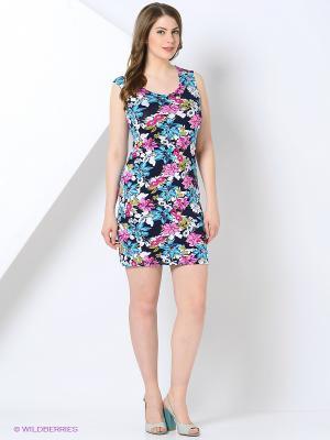 Платье Cariba. Цвет: синий