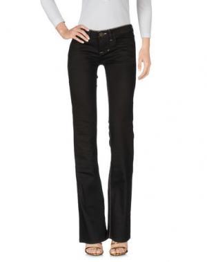 Джинсовые брюки WILLIAM RAST. Цвет: темно-коричневый