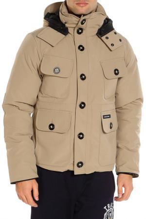 Куртка Canada Goose. Цвет: бежевый
