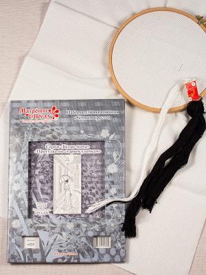 Набор для вышивания счетным крестом Прогулка по старым улочкам Матренин Посад. Цвет: серый