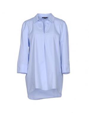 Pубашка TARA JARMON. Цвет: небесно-голубой